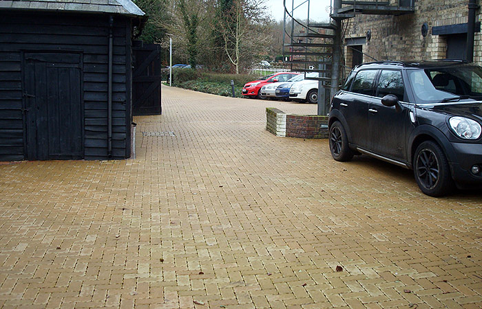 Small civils car park construction